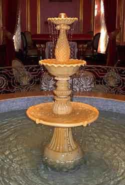 Интерьерные фонтаны для ресторанов