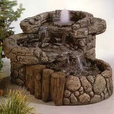 Декоративные комнатные фонтаны