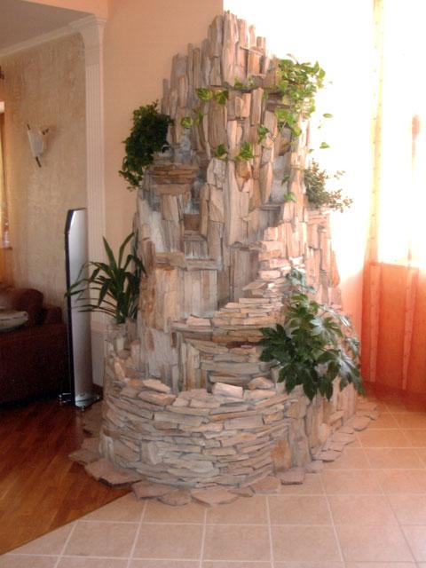 Создание искусственных водопадов