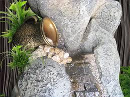 Комнатные водопады из натурального камня