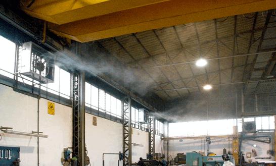 Принцип работы системы тумана