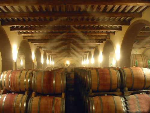 Системы туманообразования для винодельческих хозяйств