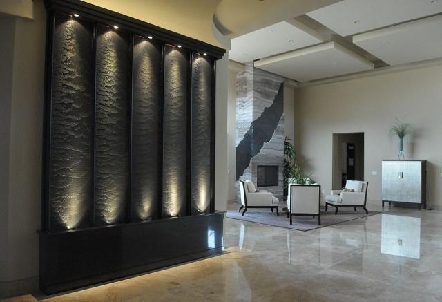 Декоративные комнатные водопады