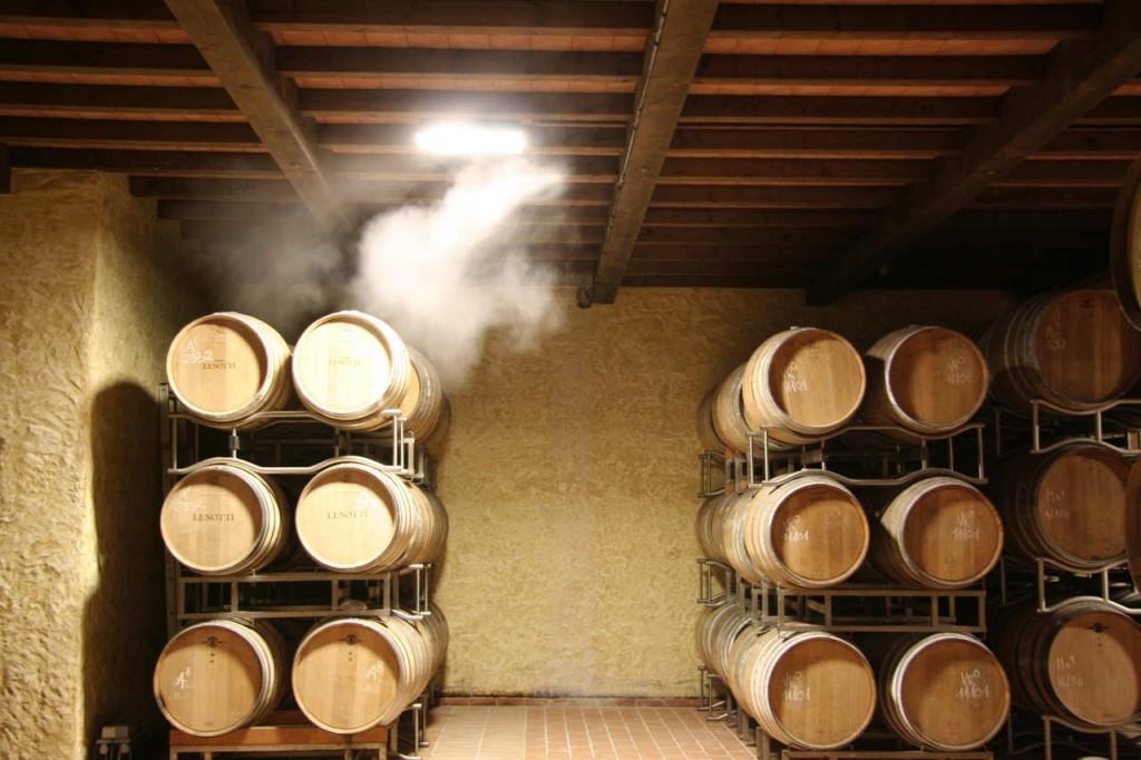 Системы туманного охлаждения в виноделии
