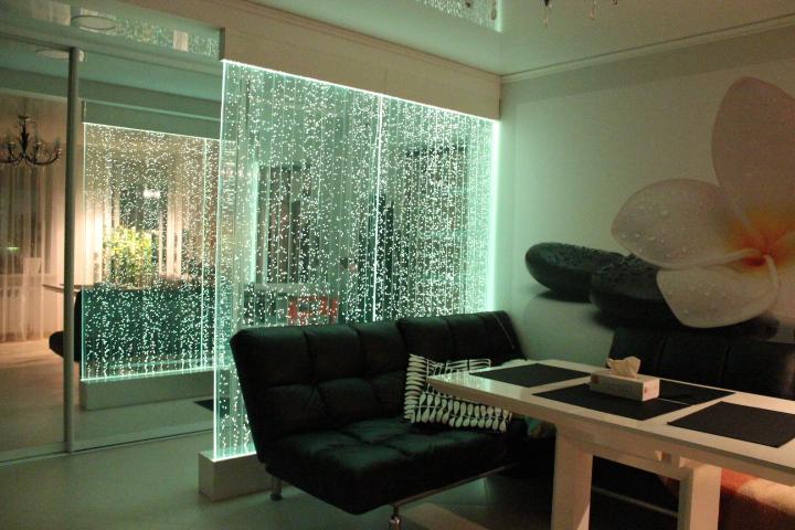 Пузырьковые панели в интерьере квартир в Одессе