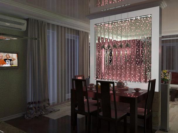 Пузырьковые панели в интерьере домов в Одессе