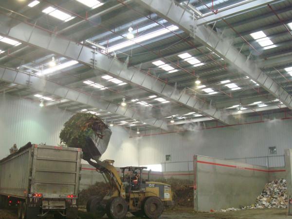 Устранение неприятных запахов с помощью системы туманообразования