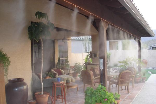 Системы искусственного тумана для открытых площадок