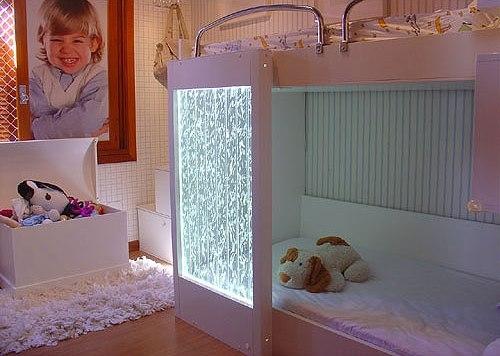 Пузырьковые панели в детской комнате
