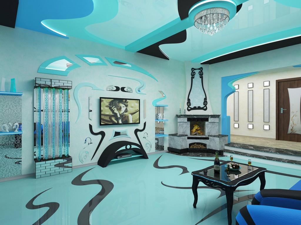 Аквадизайн интерьера квартиры в Одессе