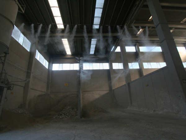 Система туманообразования на производстве