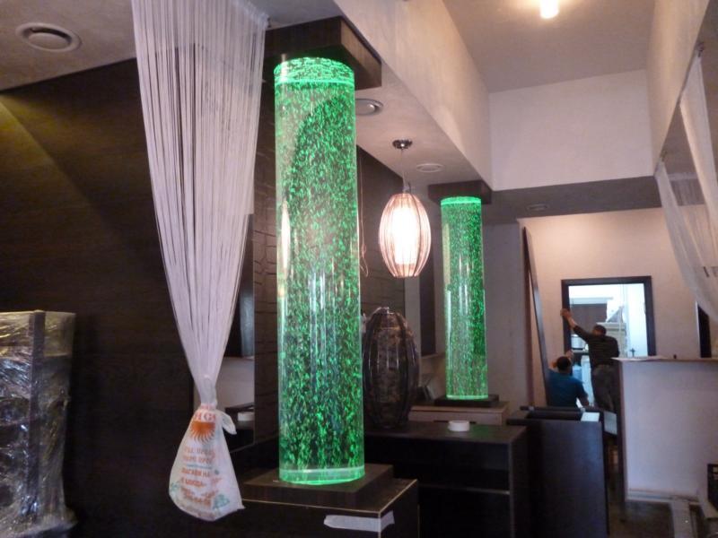 Воздушно-пузырьковые колонны для кафе, баров и ресторанов