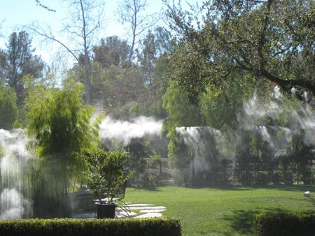 Системы туманообразования для открытых площадок
